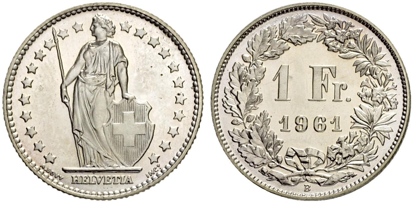 CH 1 Franken 1961 B