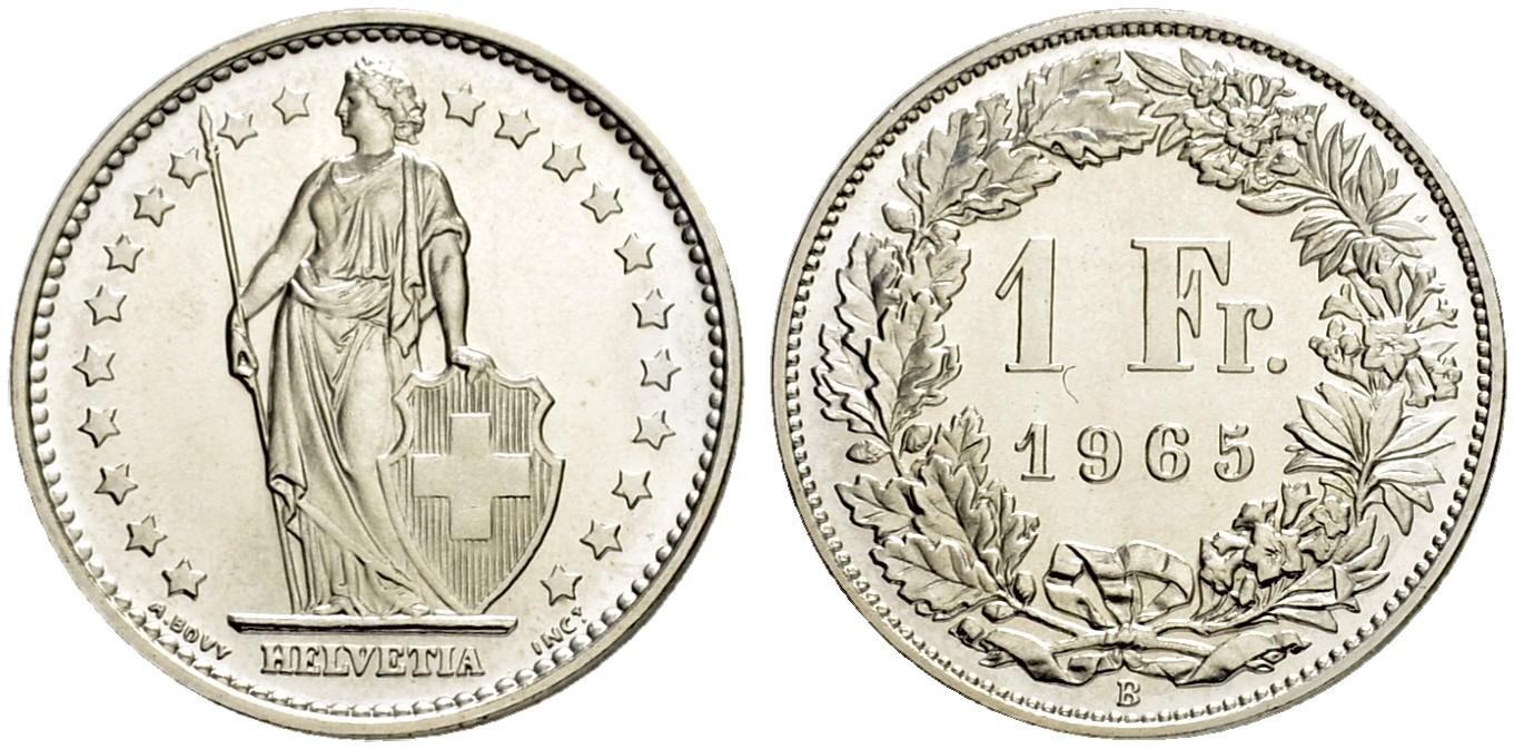 CH 1 Franken 1965 B