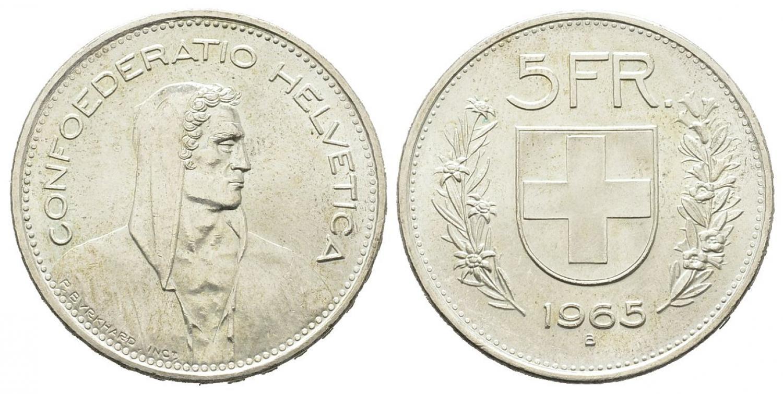 CH 5 Franken 1965 B