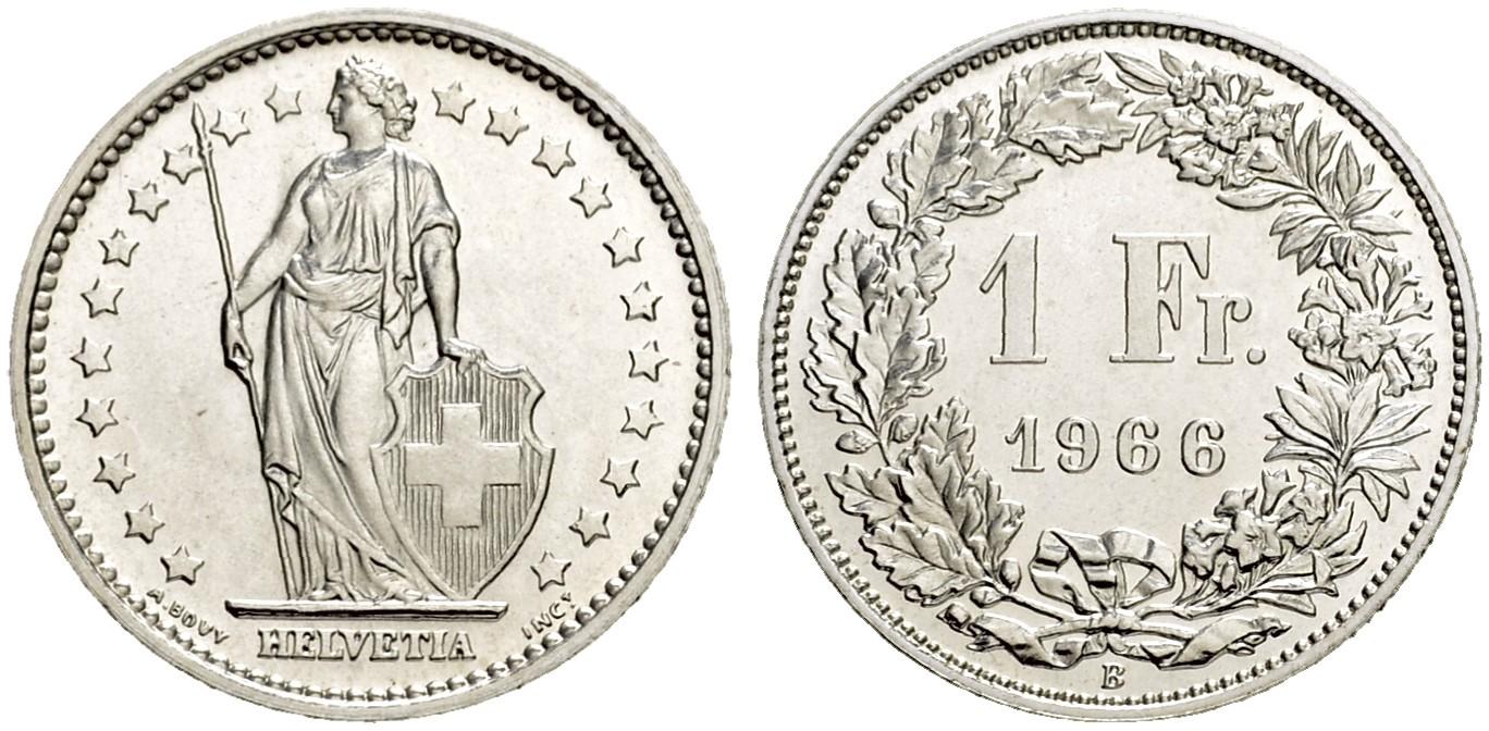 CH 1 Franken 1966 B