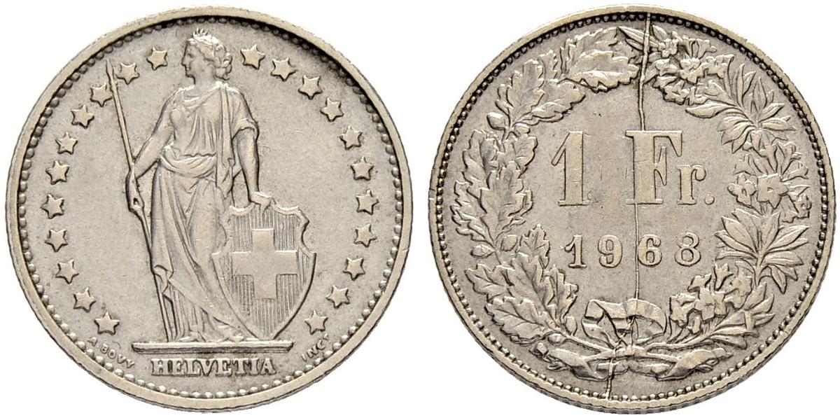 CH 1 Franken 1968