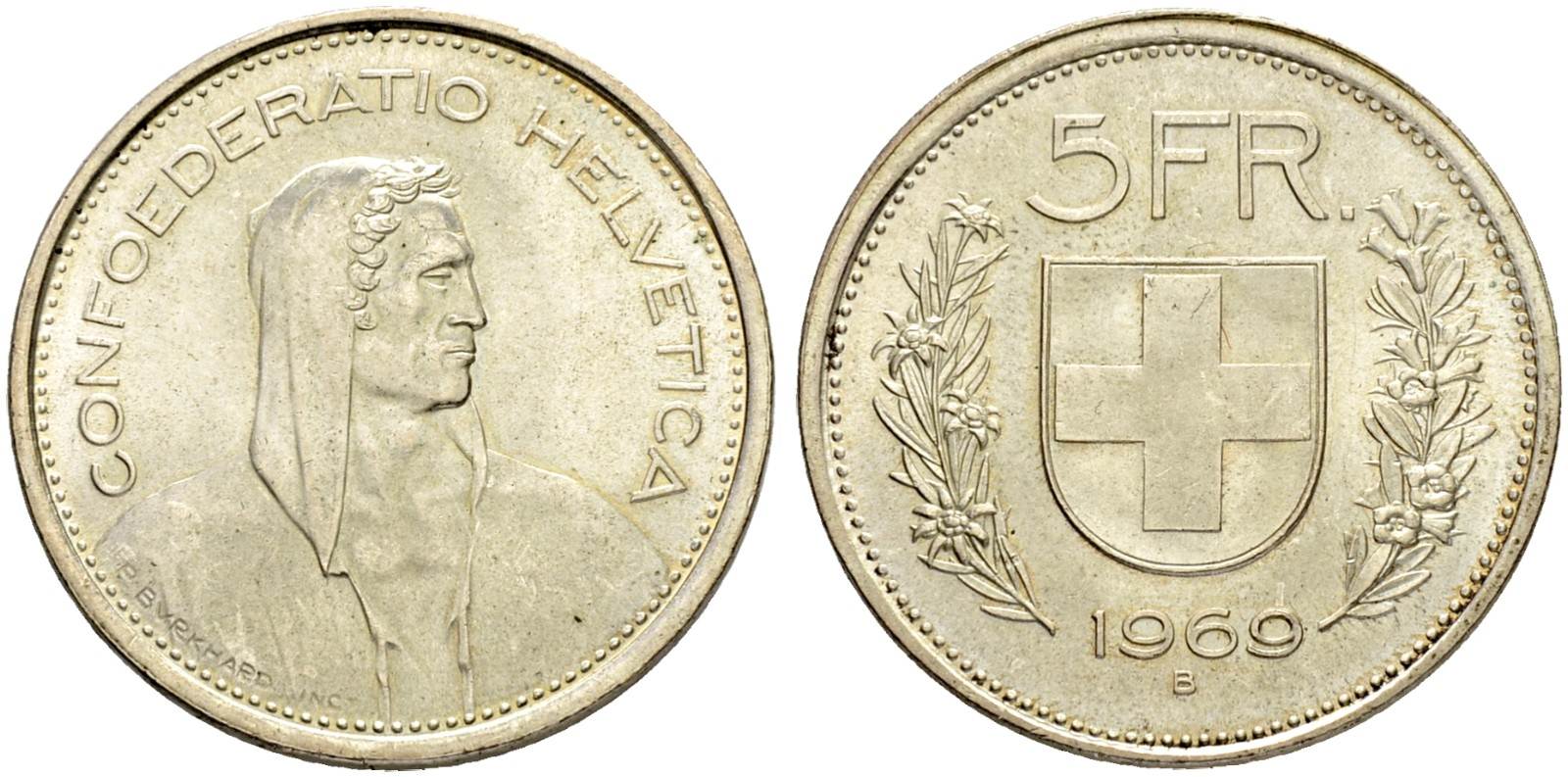 CH 5 Franken 1969 B