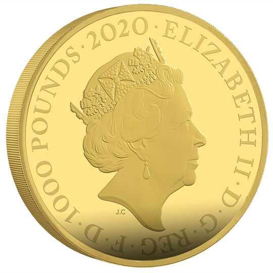 GB 1000 Pounds 2020