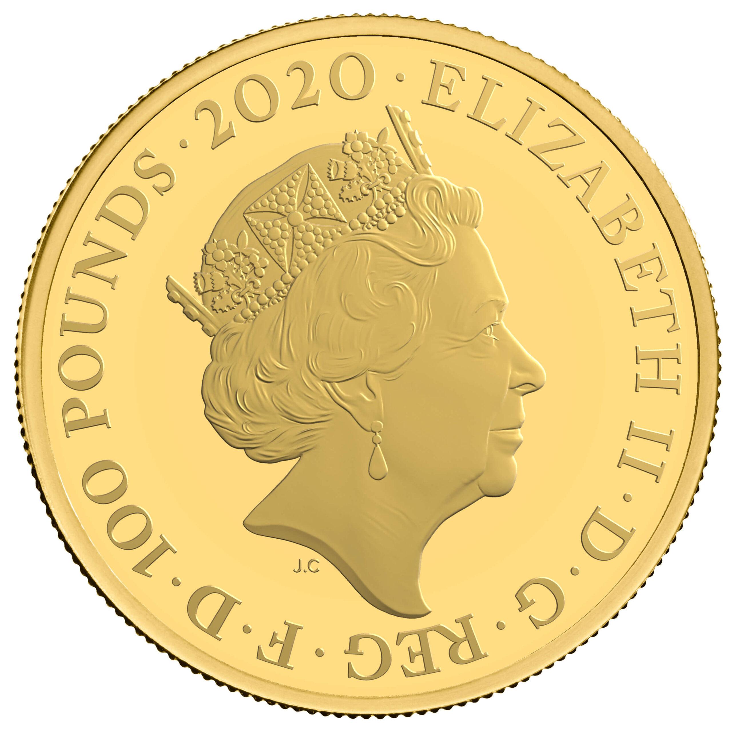 GB 100 Pounds 2020