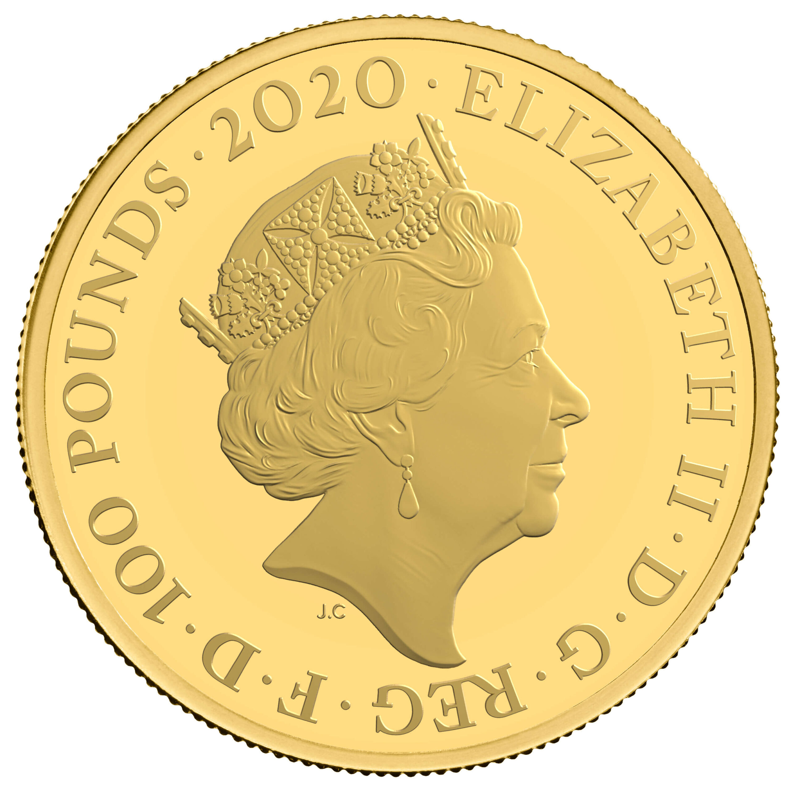 GB 100 Pounds 2020