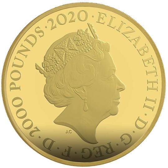 GB 2000 Pounds 2020