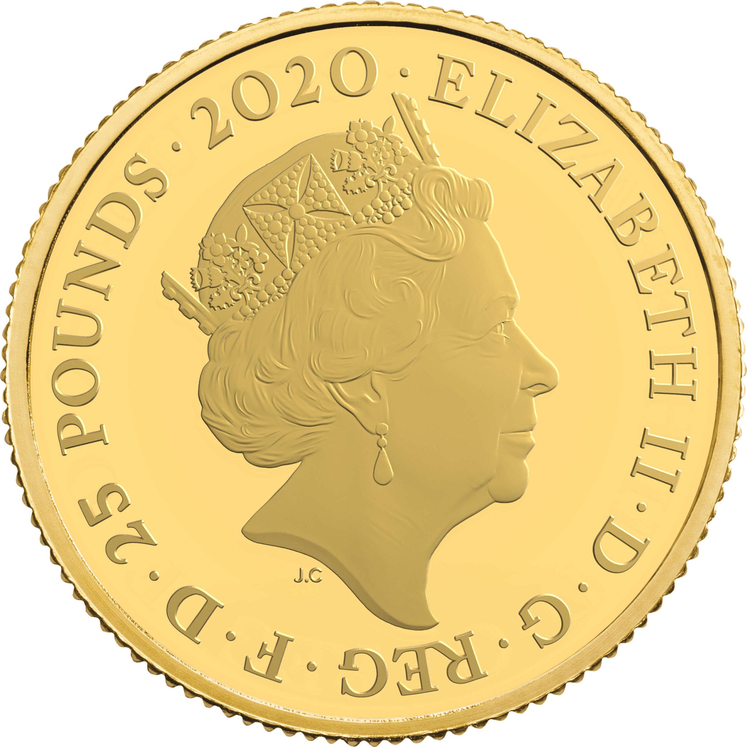 GB 25 Pounds 2020