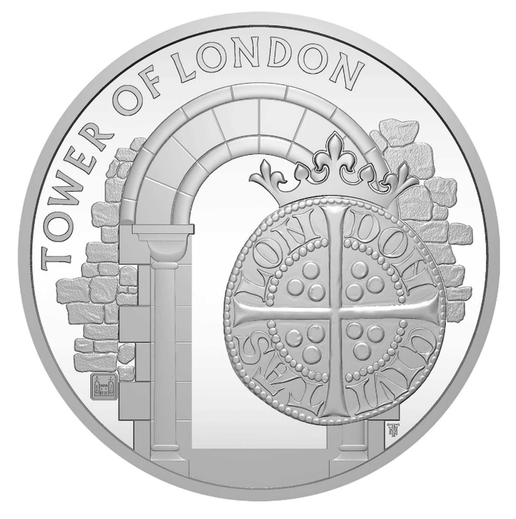 GB 5 Pounds 2020 The White Tower