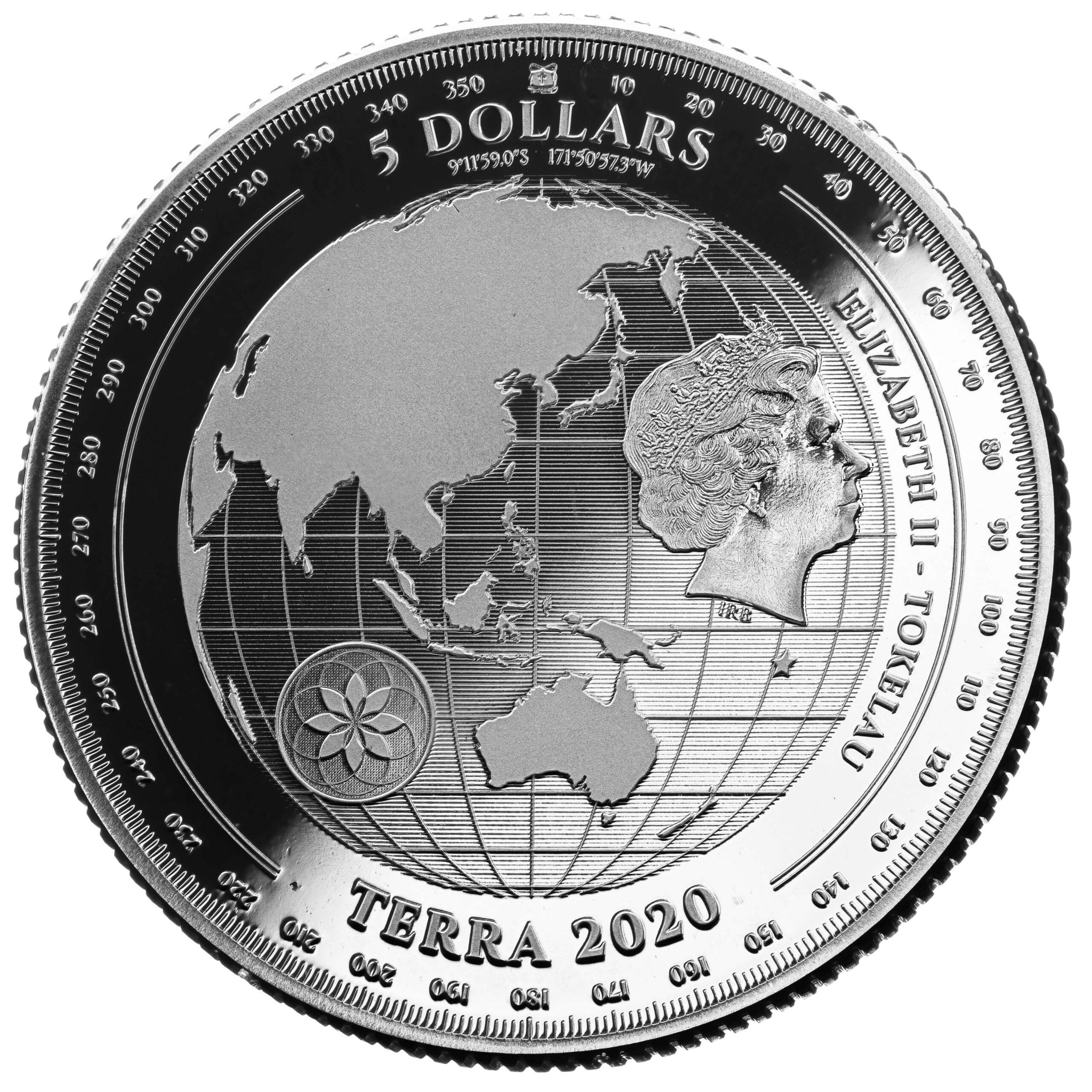 TK 5 Dollars 2020 Pressburg Mint logo