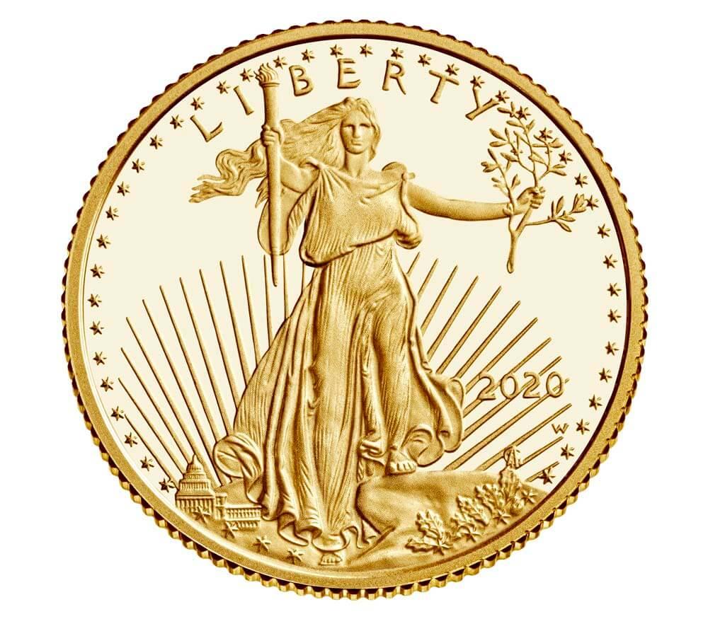 US 5 Dollars 2020 W
