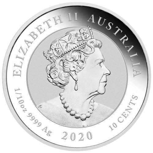 AU 10 Cents 2020 P