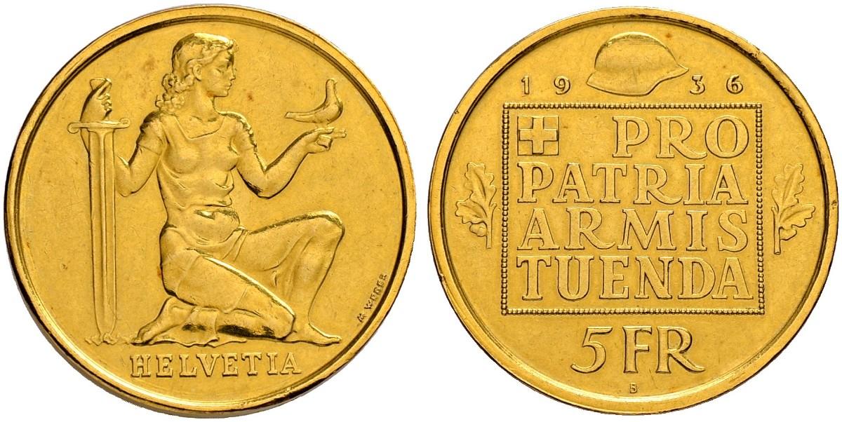 CH 5 Franken 1936 B