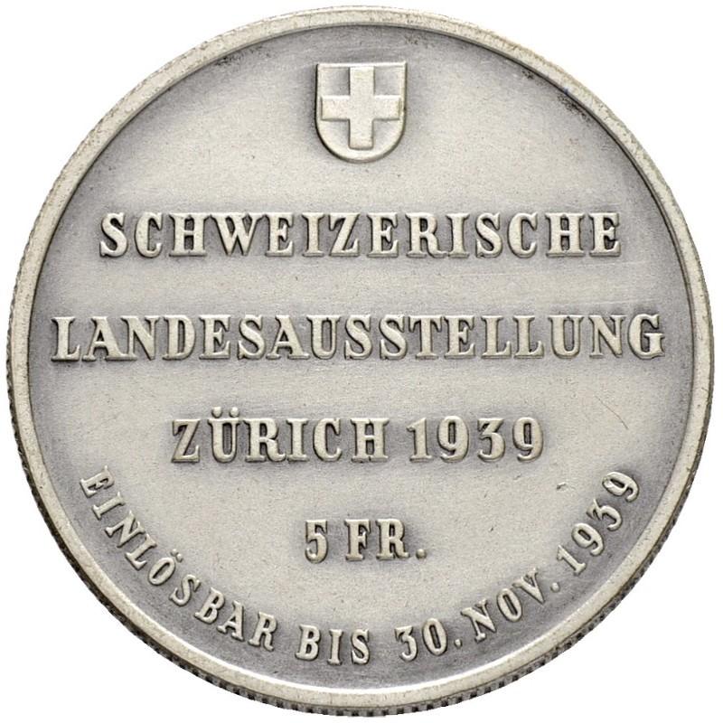 CH 5 Franken 1939 HF