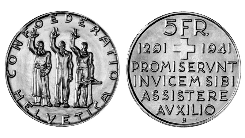 CH 5 Franken 1941 B
