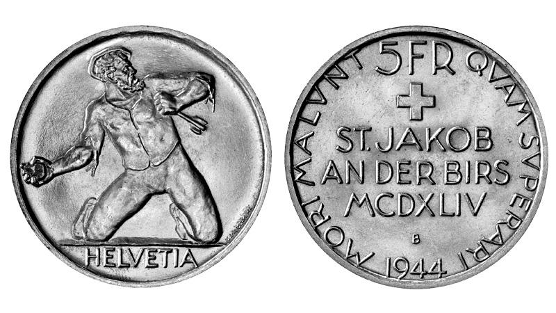 CH 5 Franken 1944 B