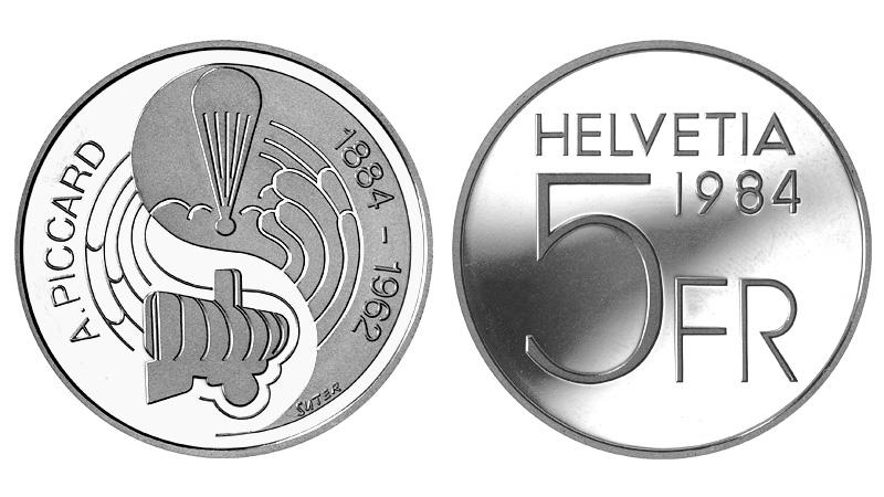 CH 5 Franken 1984