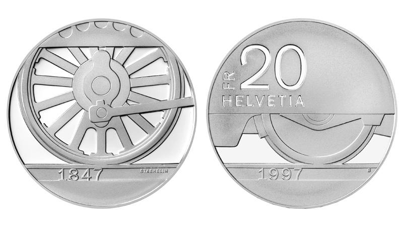 CH 20 Franken 1997 B