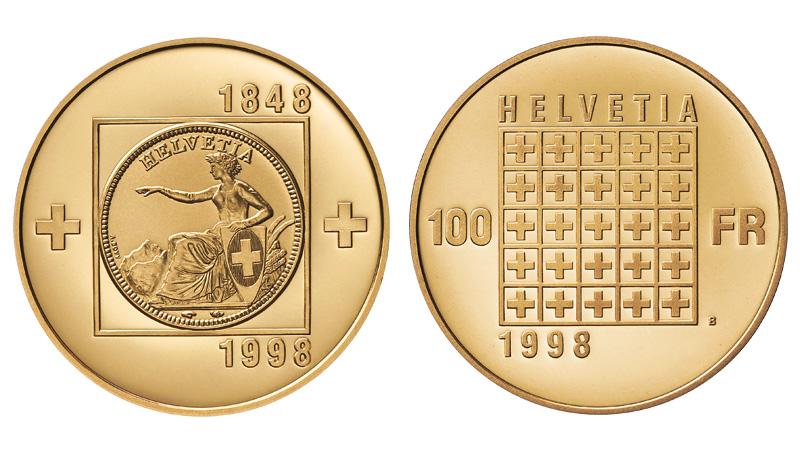 CH 100 Franken 1998 B