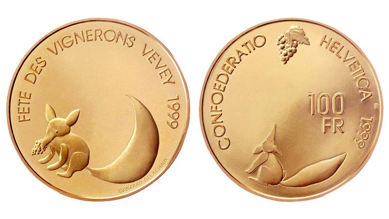 CH 100 Franken 1999 B