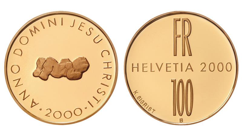 CH 100 Franken 2000 B