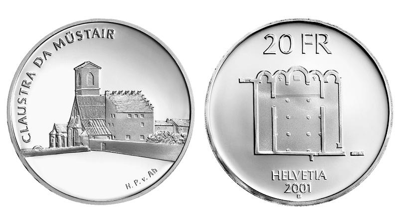 CH 20 Franken 2001 B