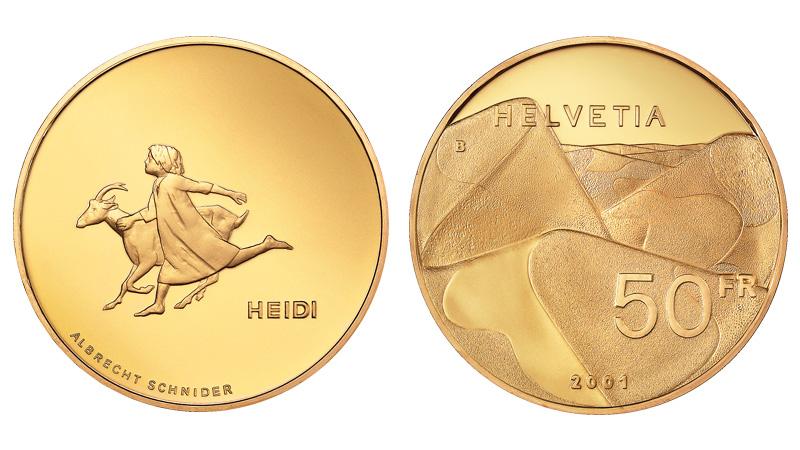 CH 50 Franken 2001 B