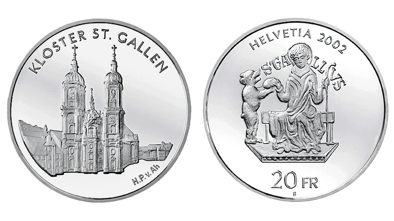 CH 20 Franken 2002 B