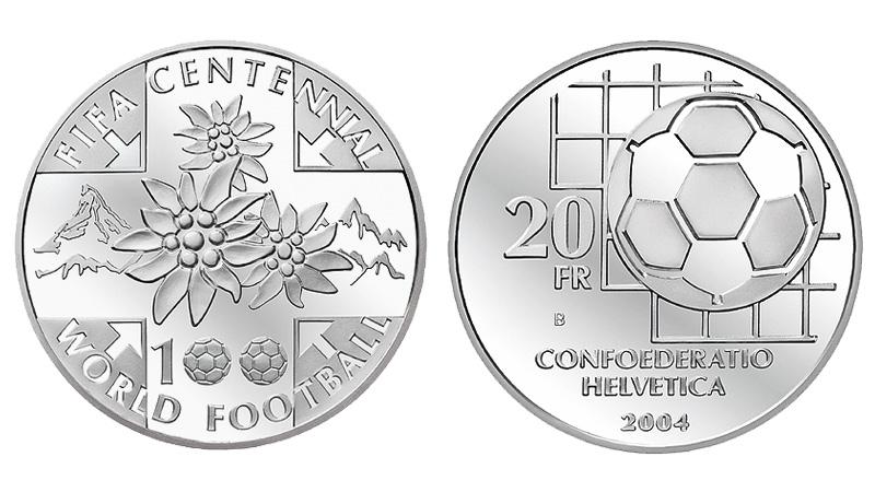 CH 20 Franken 2004 B