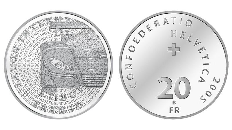 CH 20 Franken 2005 B