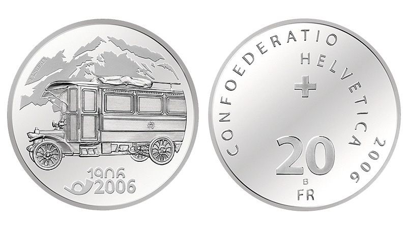 CH 20 Franken 2006 B