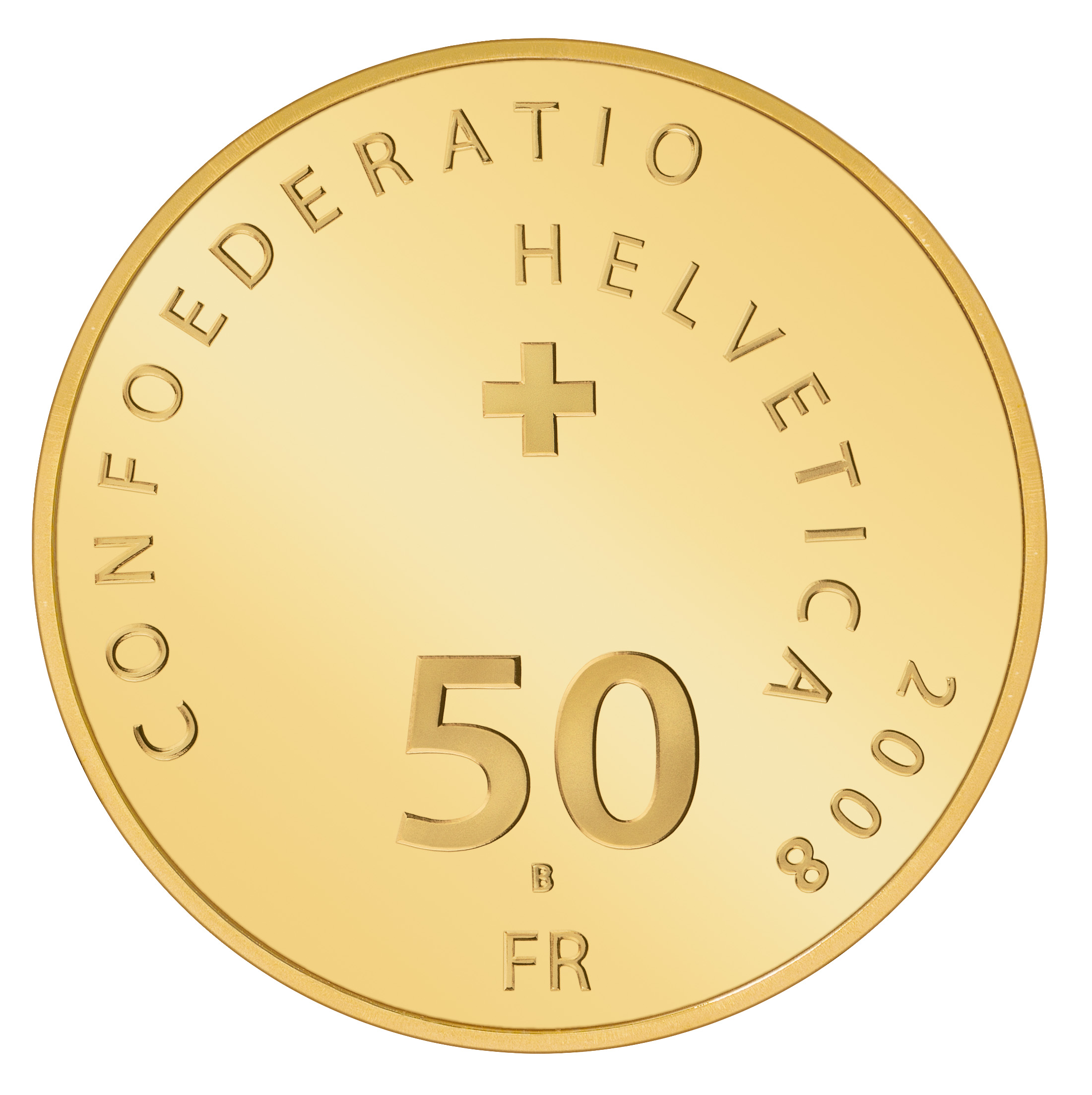 Ch 50 Franken 2008 B