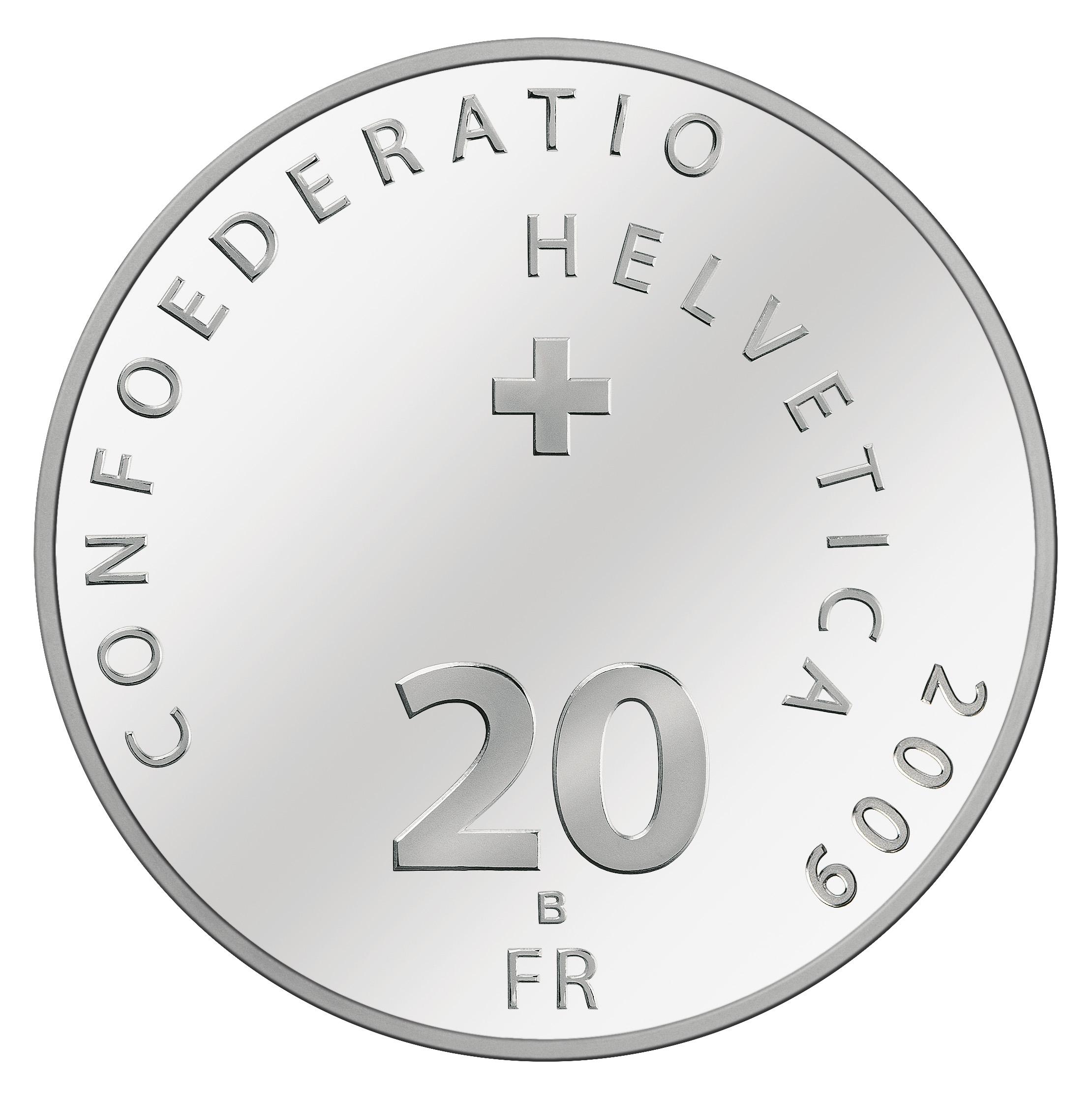 CH 20 Franken 2009 B