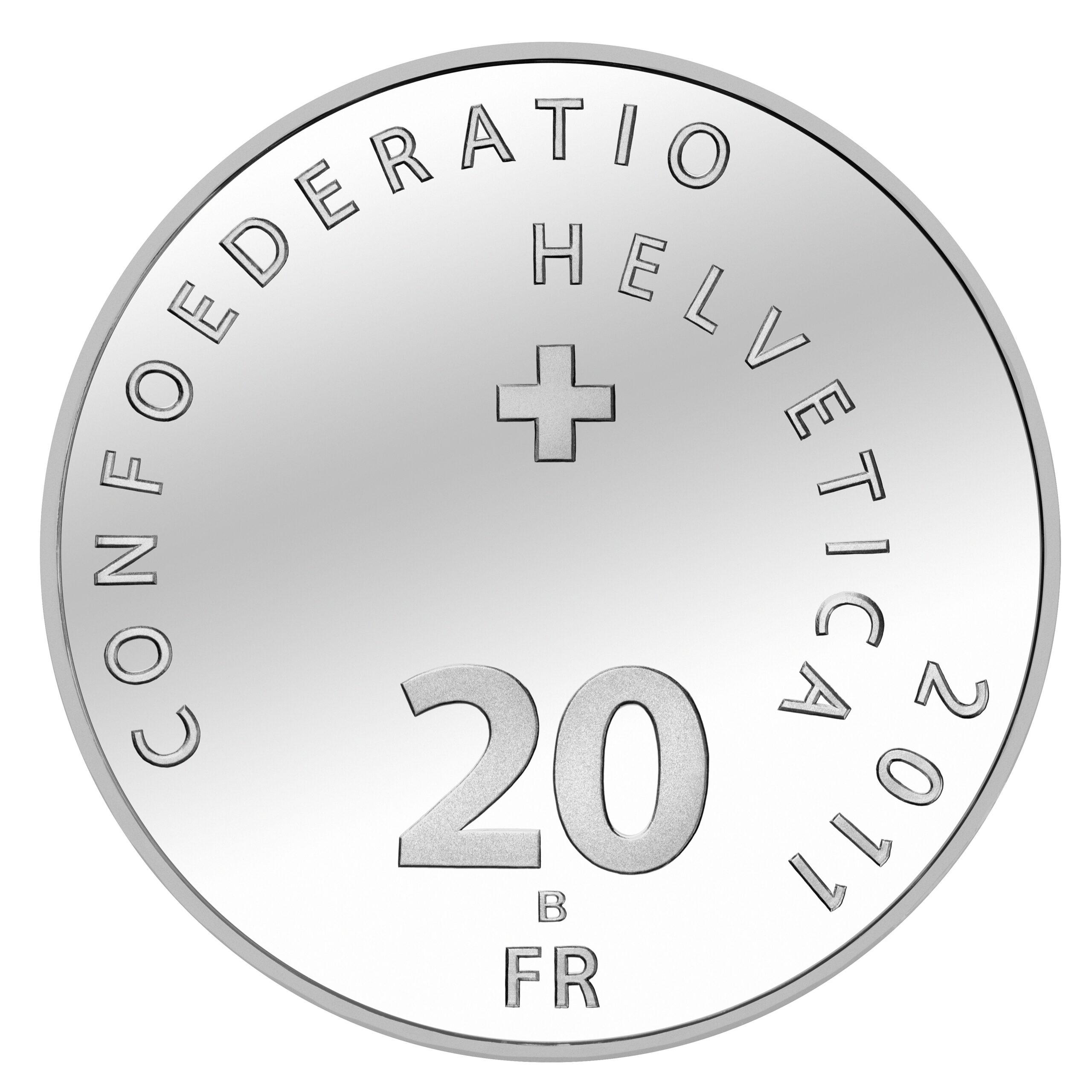 CH 20 Franken 2011 B