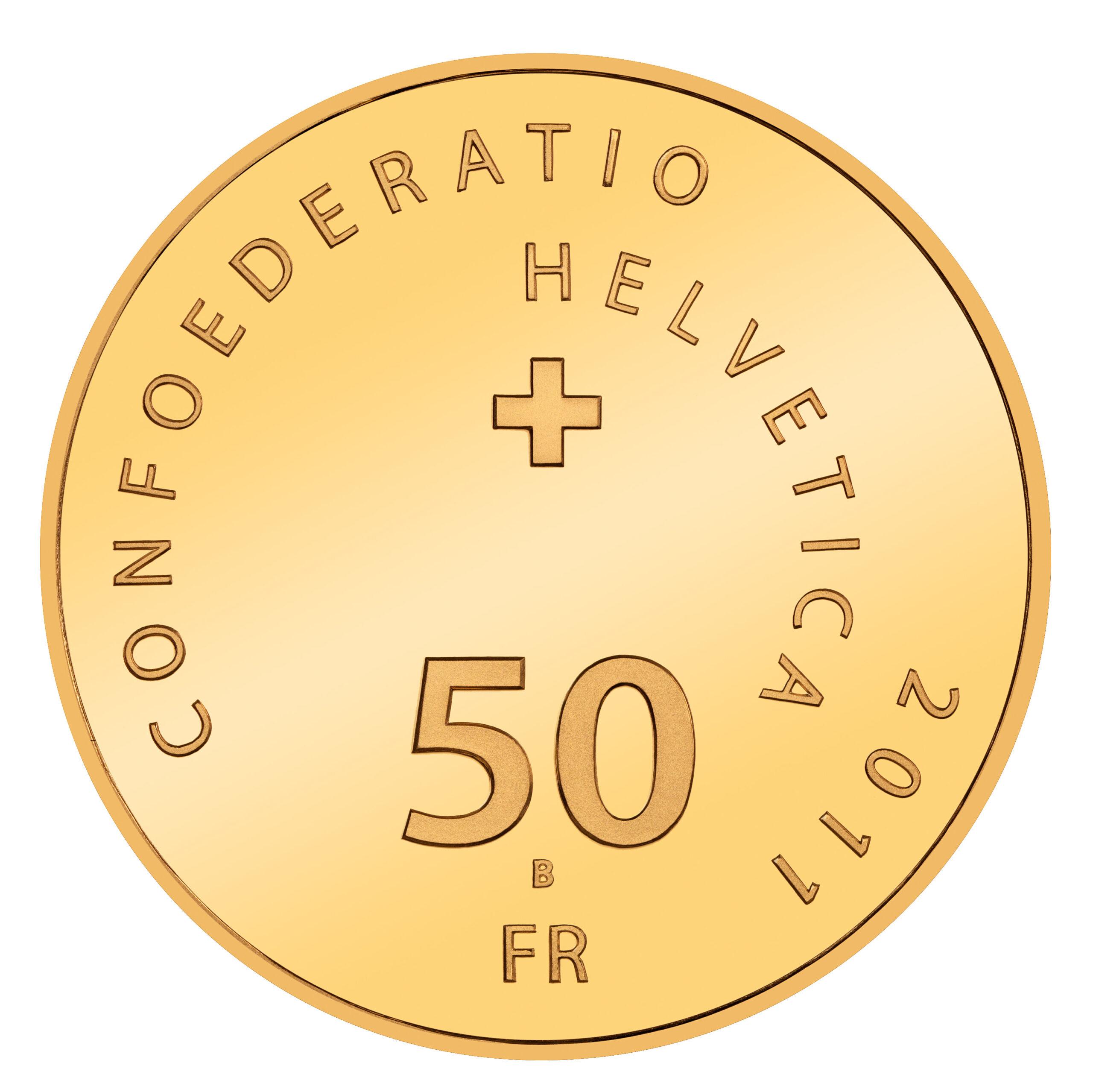 CH 50 Franken 2011 B