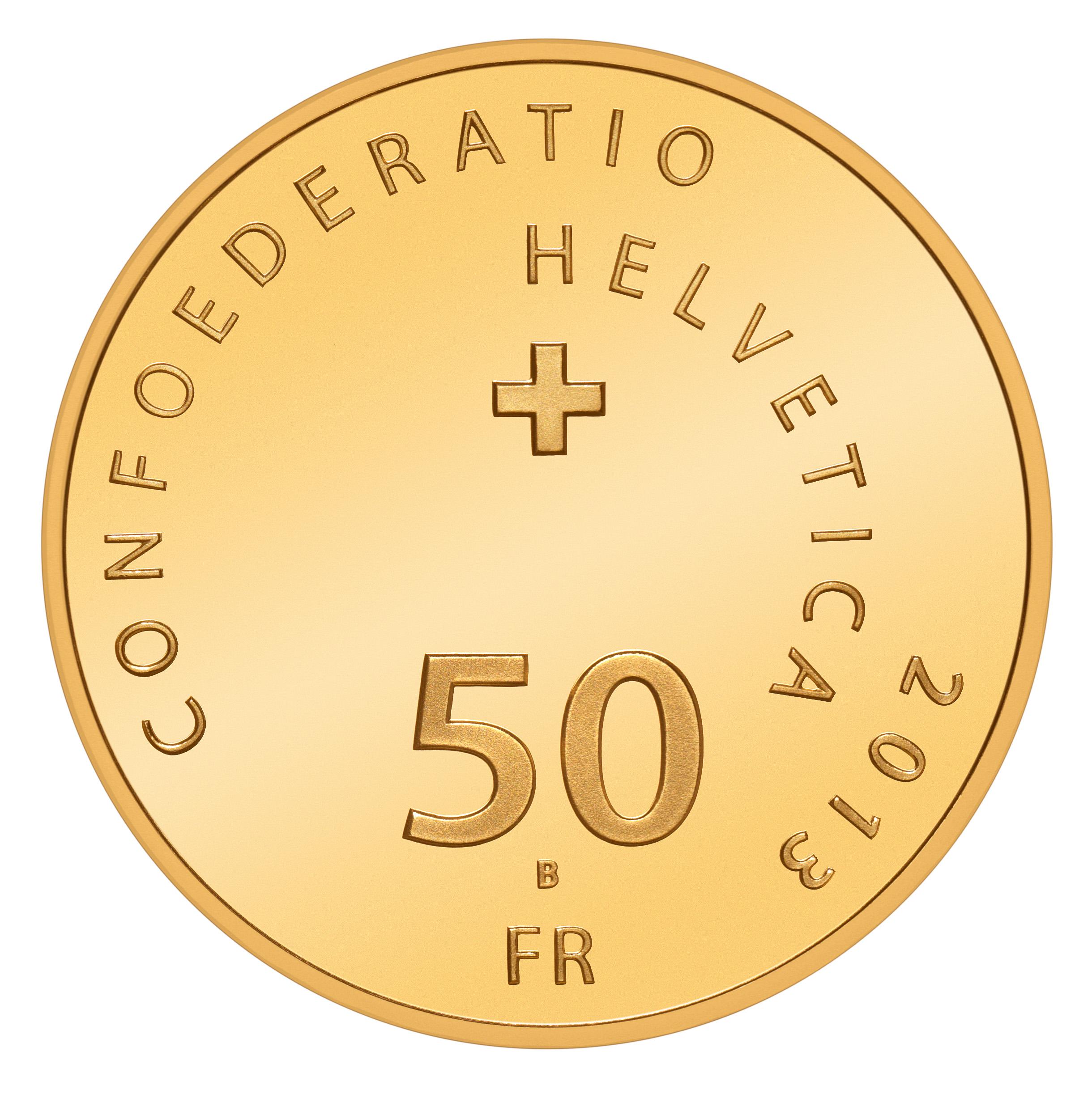 CH 50 Franken 2013 B