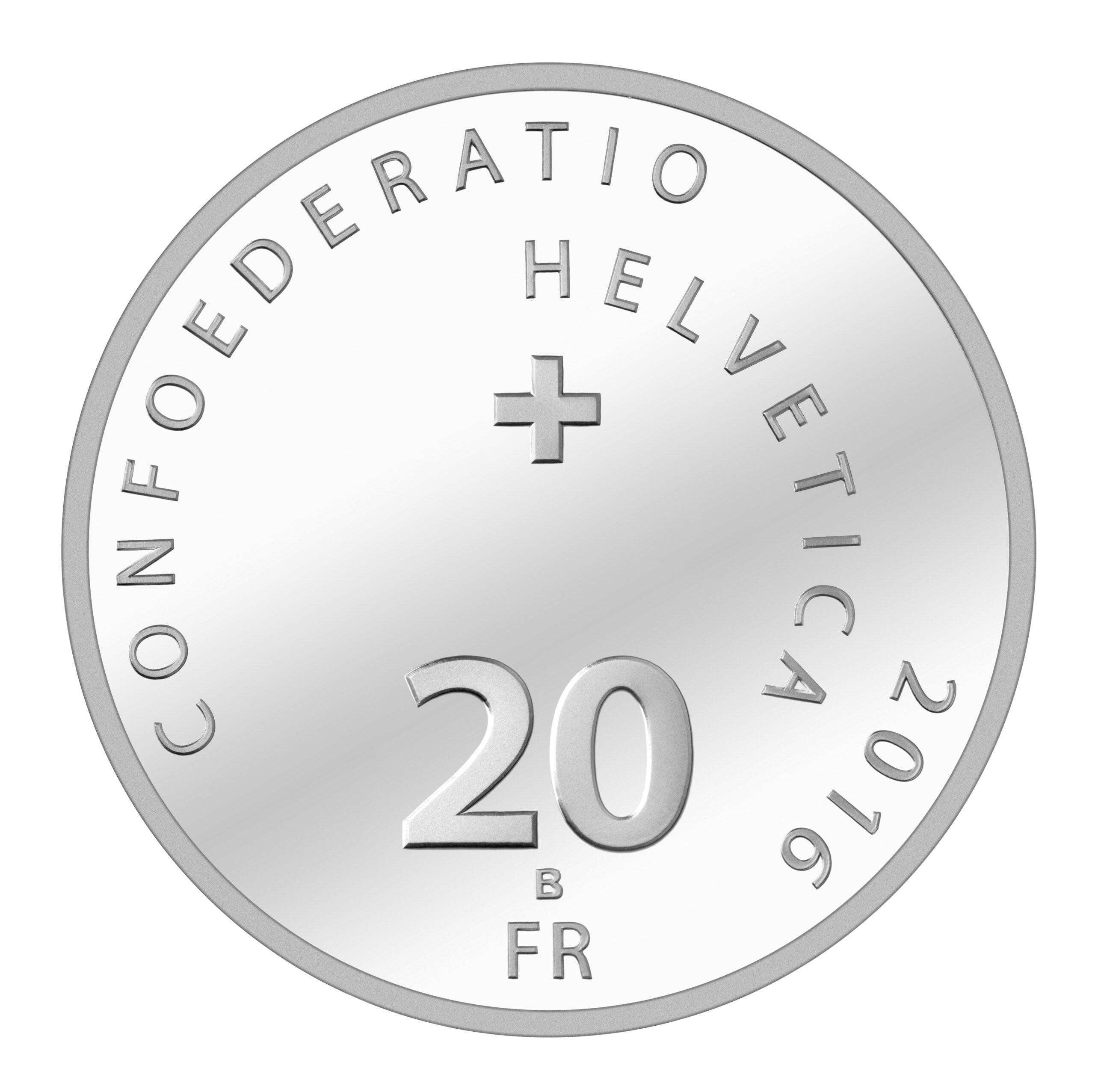 CH 20 Franken 2016 B