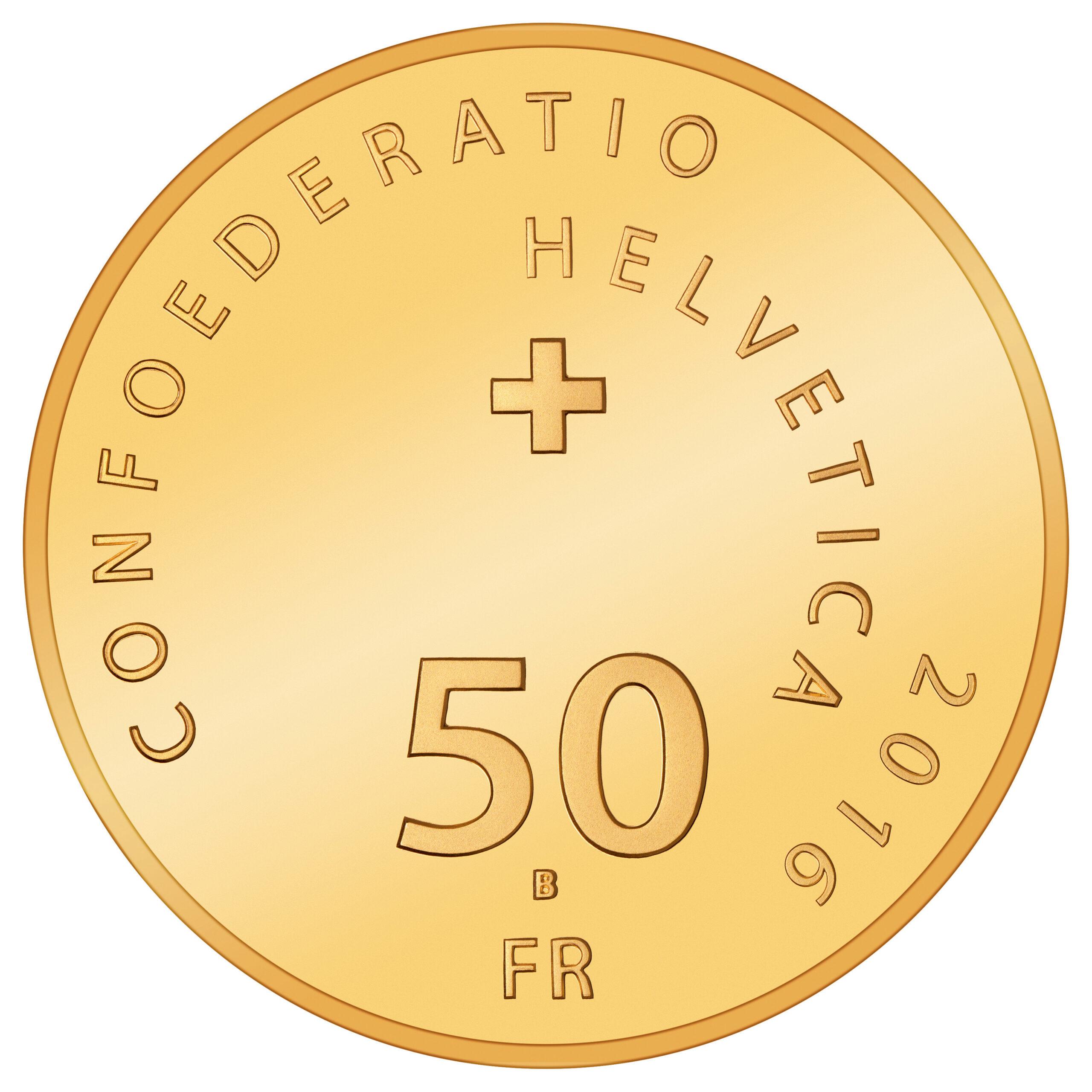 CH 50 Franken 2016 B