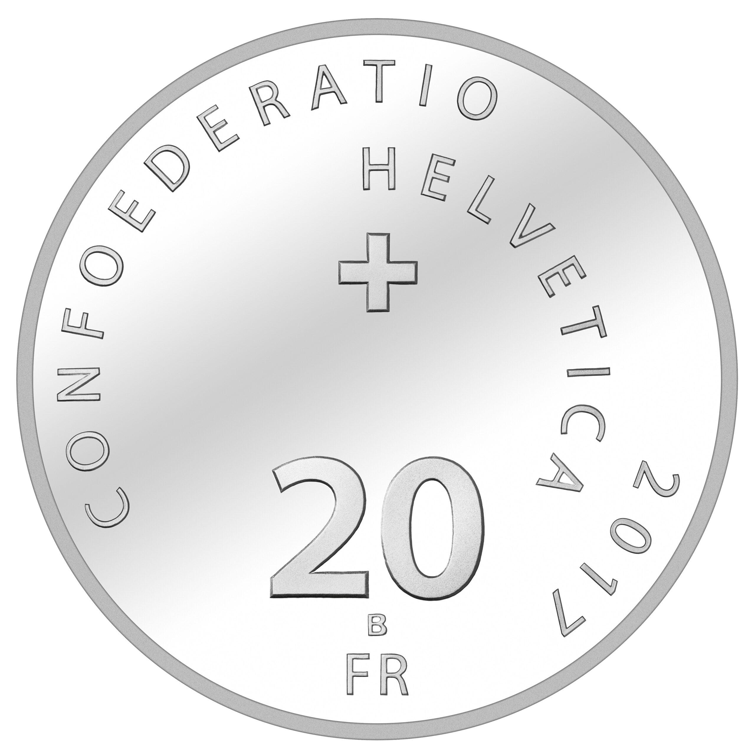 CH 20 Franken 2017 B