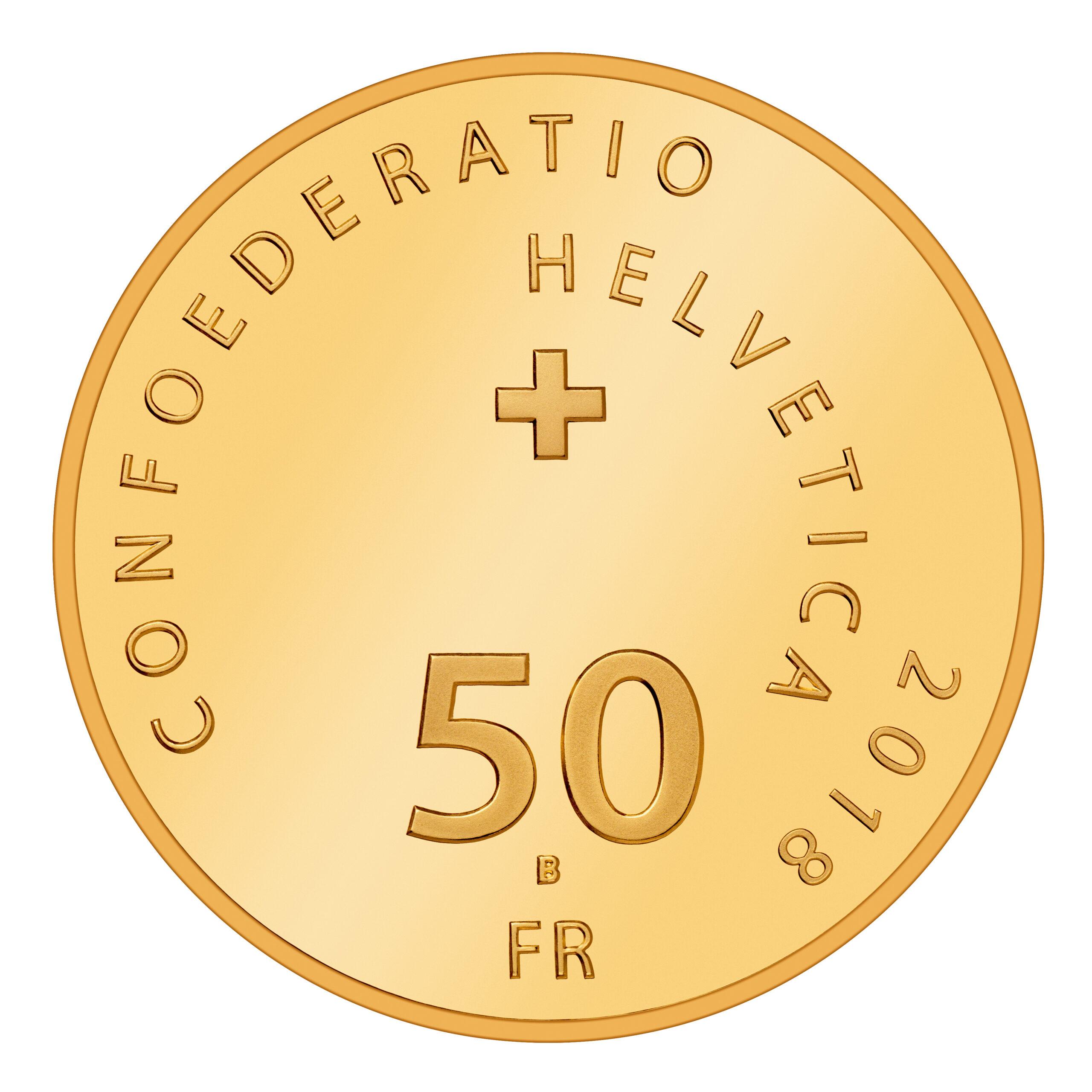 CH 50 Franken 2018 B