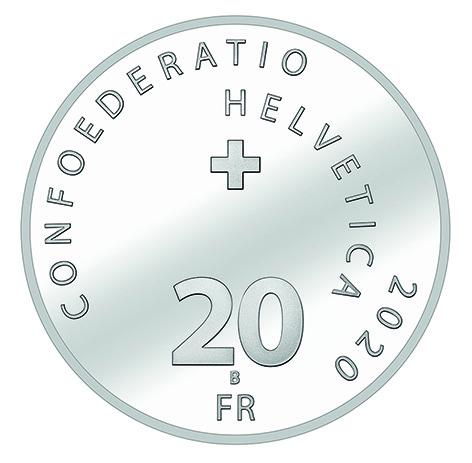 CH 20 Franken 2019 B