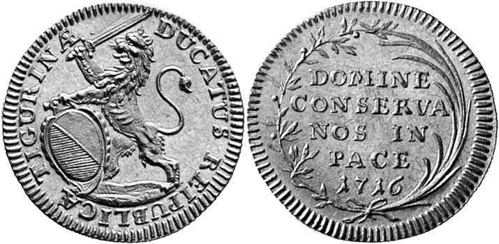 CH 1 Dukat 1716