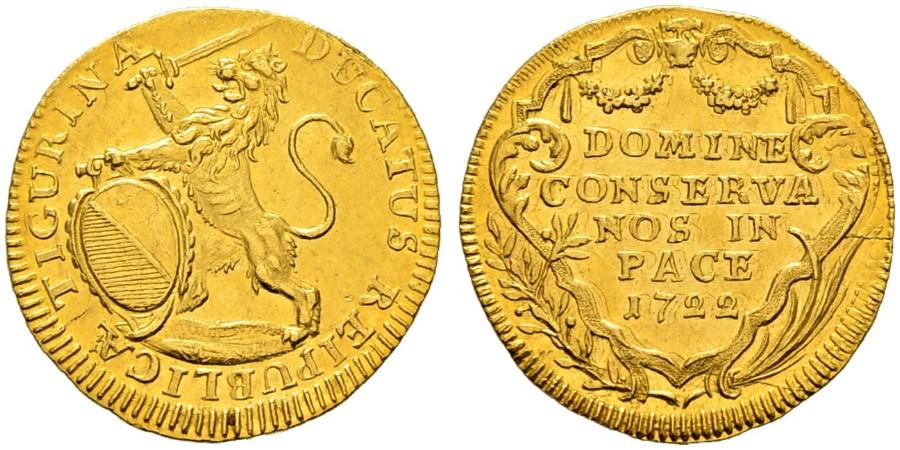 CH 1 Dukat 1722