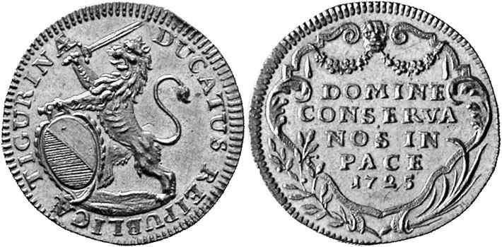 CH 1 Dukat 1725