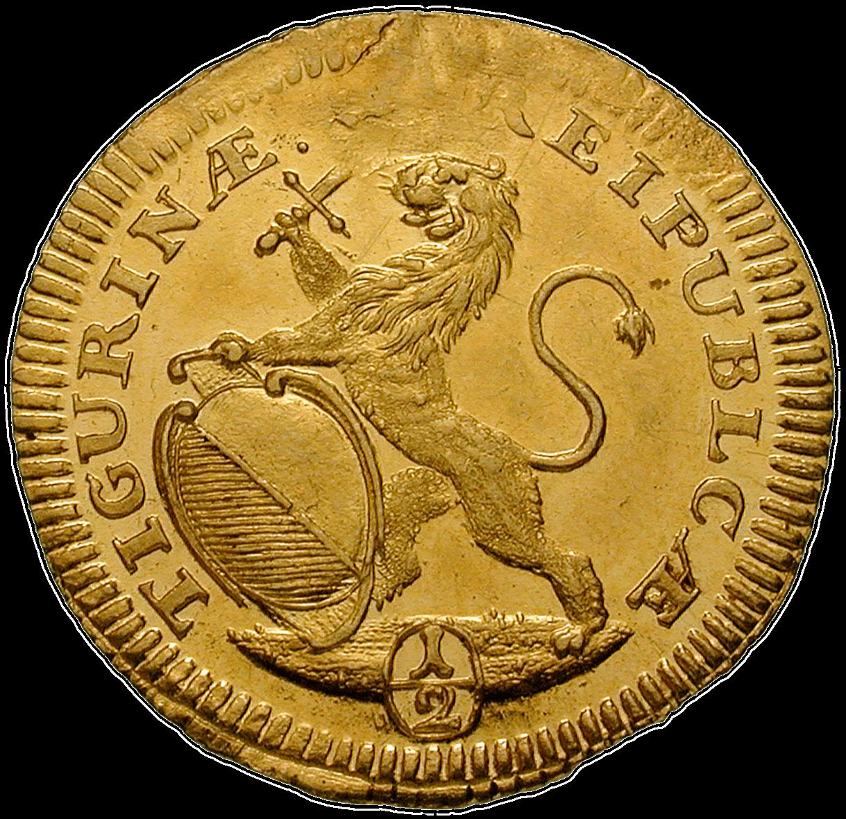 CH 1/2 Dukat - Halbdukat 1726