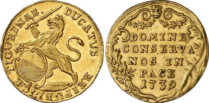 CH 1 Dukat 1739