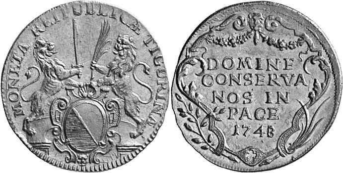 CH 2 Dukaten - Doppeldukat 1748