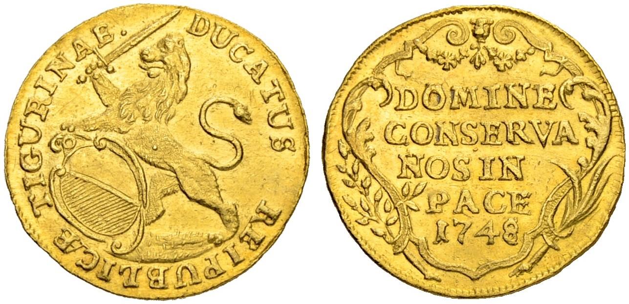 CH 1 Dukat 1748