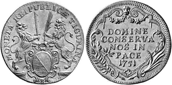 CH 2 Dukaten - Doppeldukat 1751