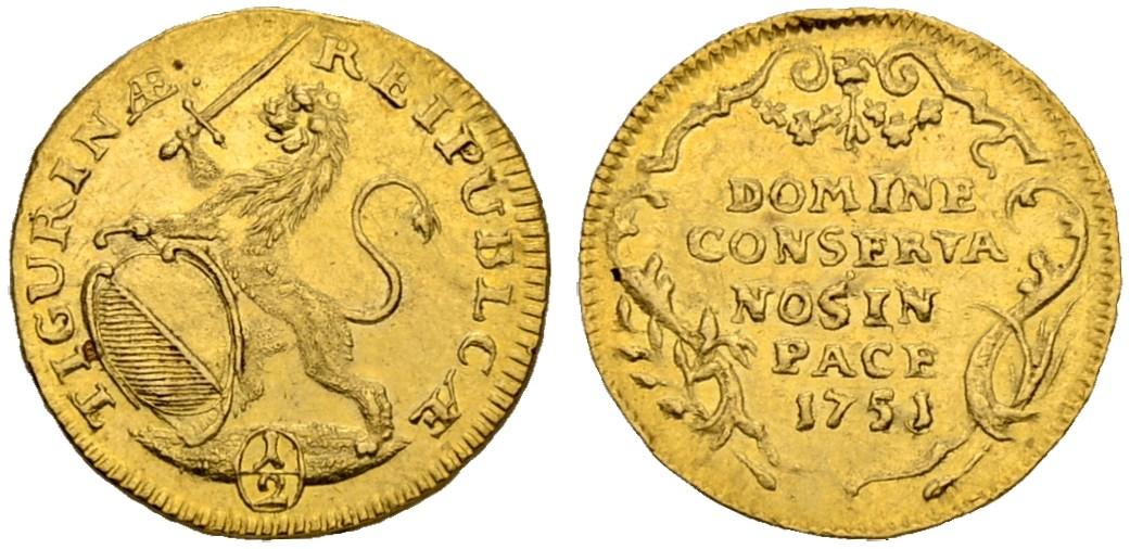CH 1/2 Dukat - Halbdukat 1751