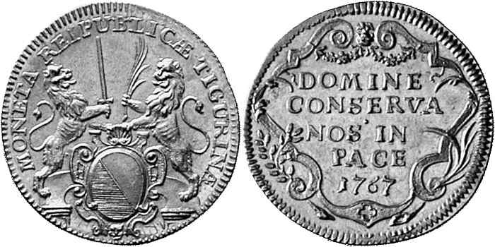 CH 2 Dukaten - Doppeldukat 1767